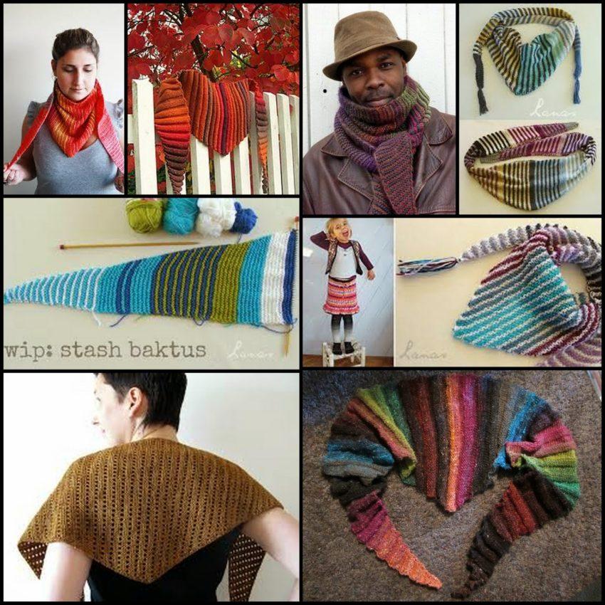 Pletená šatka