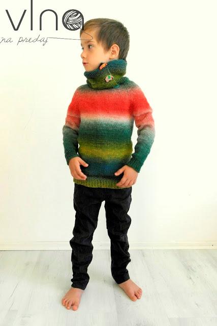 Raglánový sveter