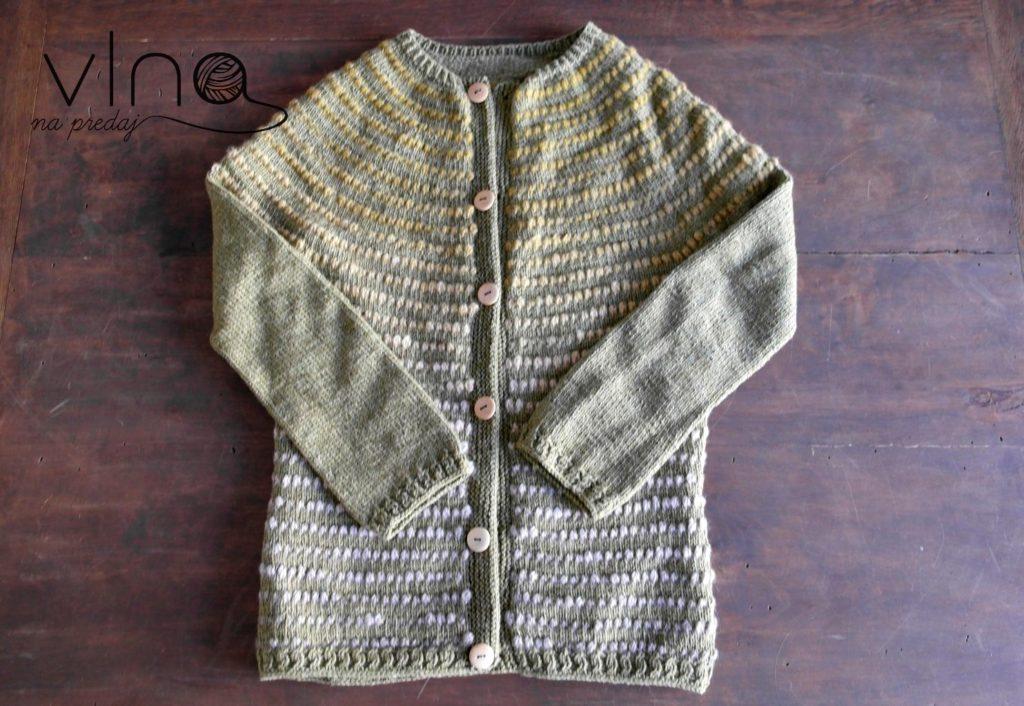 Návod na pletený sveter