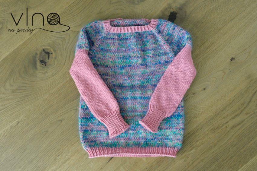 Pletený vlnený sveter