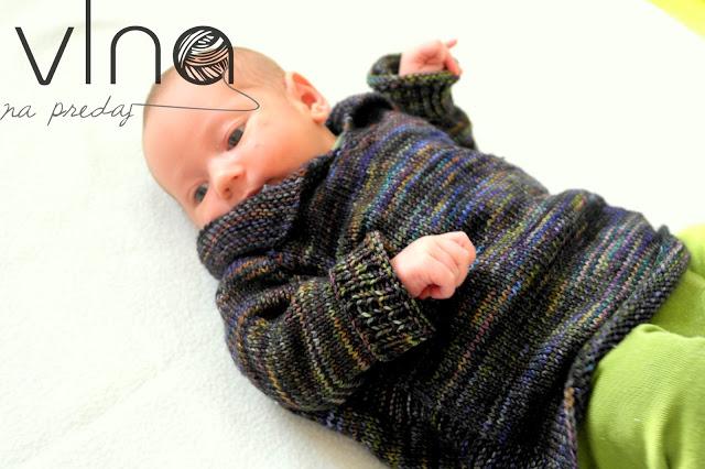 Na pulóvrik pre novorodenca vám postačí 100g.